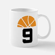 Basketball Number 9 Player Gift Mug