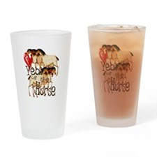 Love the Year of the Horse Drinking Glass
