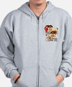 Love the Year of the Horse Zip Hoodie