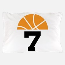 Basketball Number 7 Player Gift Pillow Case