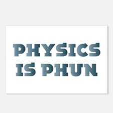 Physics Is Fun Postcards (Package of 8)