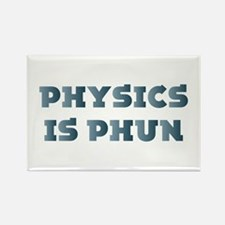 Physics Is Fun Rectangle Magnet (10 pack)
