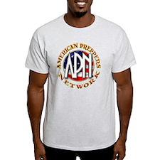 American Preppers Network Ball Logo T-Shirt