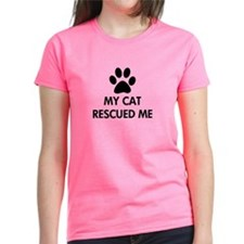 My Cat Rescued Me Tee