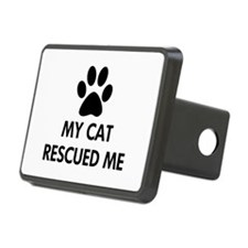 My Cat Rescued Me Hitch Cover