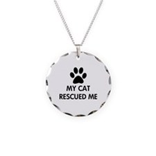 My Cat Rescued Me Necklace