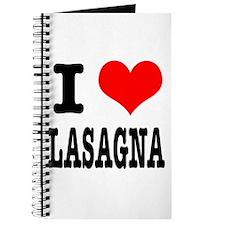 I Heart (Love) Lasagna Journal