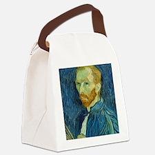 Vincent Van Gogh - Self-Portrait Canvas Lunch Bag
