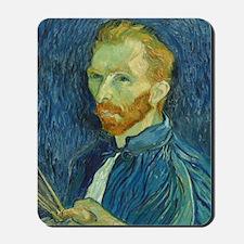 Vincent Van Gogh - Self-Portrait Mousepad