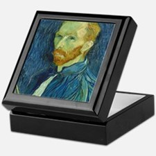Vincent Van Gogh - Self-Portrait Keepsake Box