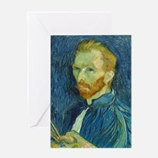 Vincent Van Gogh - Self-Portrait Greeting Card