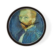 Vincent Van Gogh - Self-Portrait Wall Clock
