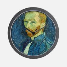 Vincent Van Gogh - Self-Portrait Wall Clock