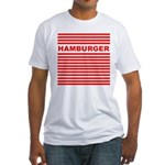 Hamburger Fitted T-Shirt