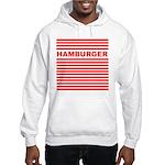 Hamburger Hooded Sweatshirt