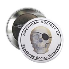 """Renegade Social Workers 2.25"""" Button"""