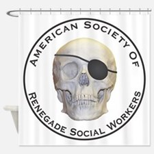 Renegade Social Workers Shower Curtain