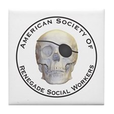 Renegade Social Workers Tile Coaster