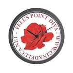 Fell's Point Diva Wall Clock