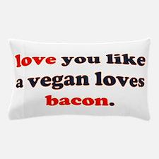 Vegan Bacon Pillow Case
