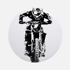 bike Ornament (Round)
