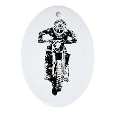 bike Ornament (Oval)