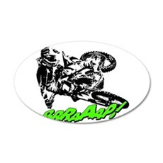 bike 2 brap Wall Decal