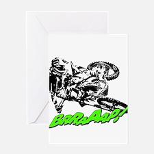bike 2 brap Greeting Cards