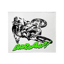 bike 2 brap Throw Blanket