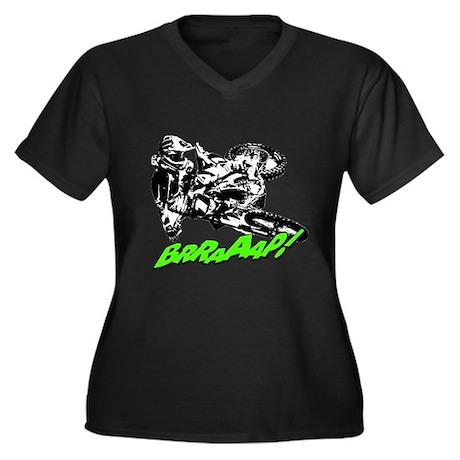 bike 2 brap Plus Size T-Shirt