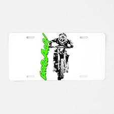 bike brap Aluminum License Plate
