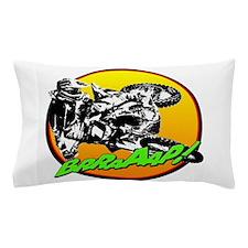 bike sun brap Pillow Case