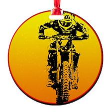 bike sun ghost Ornament