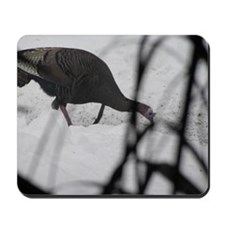 Snow Turkey Mousepad