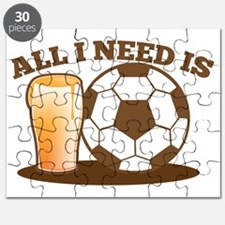 All I need is football and beer Puzzle