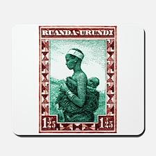 1931 Ruanda-Urundi Mother And Child Postage Stamp