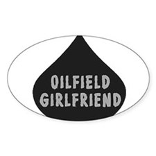 Oilfield Girlfirled Oil Drop Decal