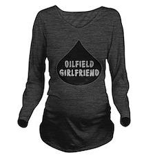 Oilfield Girlfirled Oil Drop Long Sleeve Maternity