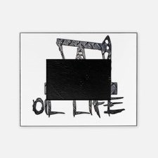 Diamond Plate Oil Life Pumpjack Picture Frame
