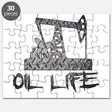 Diamond Plate Oil Life Pumpjack Puzzle