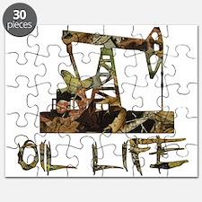 Camo Oil Life Puzzle