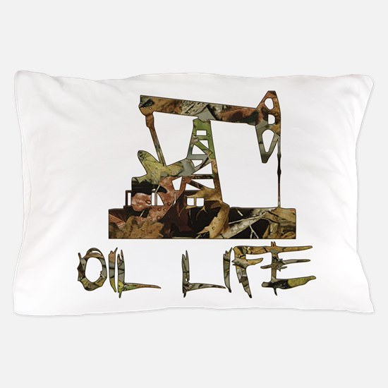 Camo Oil Life Pillow Case