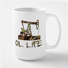Camo Oil Life Mugs
