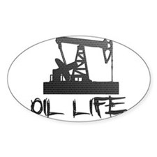 Honeycomb Oil Life Pumpjack Decal