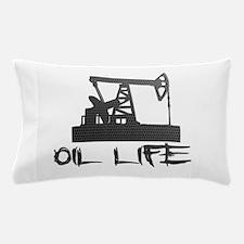Honeycomb Oil Life Pumpjack Pillow Case