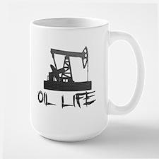 Honeycomb Oil Life Pumpjack Mugs