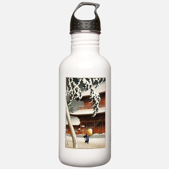 JAPANESE SNOW_VINTAGE Water Bottle