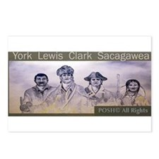 Lewis and Clark collectors Wi Postcards (Package o