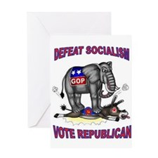 GOP VICTORY Greeting Cards