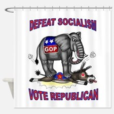 GOP VICTORY Shower Curtain